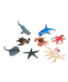 Playmate Ocean Life Set Multicolor - 8 Pieces
