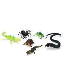 Playmate Reptile Set Multicolor - 6 Pieces