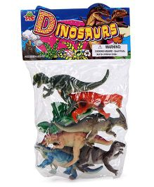 Playmate Dinosaur Set Multicolor - 7 Pieces