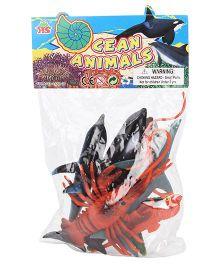 Playmate Ocean Life Set Multicolor - 7 Pieces