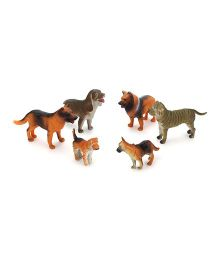Playmate Dog Set Multicolor - 6 Pieces