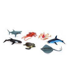 Playmate Ocean Life Set Multicolor - 6 Pieces