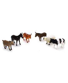 Playmate Farm Animals Set Multicolor - 6 Pieces