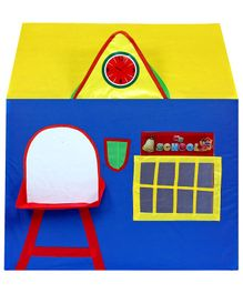 Cuddles My School Playhouse - Yellow Blue