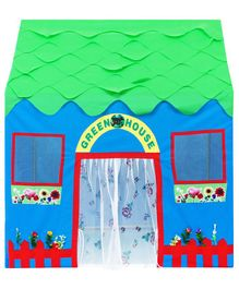 Cuddles Green House Playhouse - Multicolor