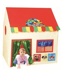 Cuddles Candy Shop Play House - Red Cream