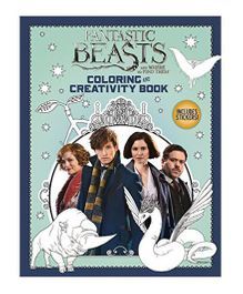 Fantastic Beasts And Where To Find Them Coloring And Creativity Book - English