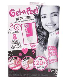 Gel-A-PeelStarter Kit Sparkle - Neon Pink