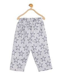 612 League Star Printed Leggings With Pockets - Grey