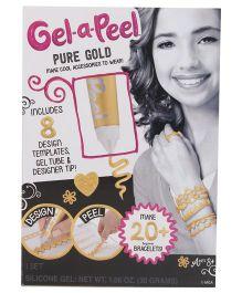 Gel-A-PeelStarter Kit Sparkle - Gold