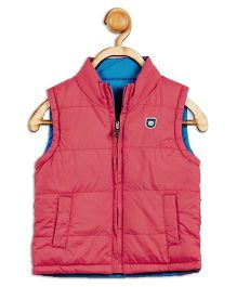 612 League Sleeveless Reversible Jacket - Red