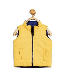 612 League Sleeveless Reversible Jacket - Yellow