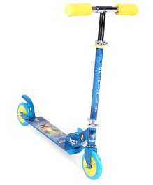 Starwalk 2 Wheels Scooter Tiger Print - Blue Yellow