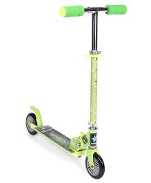 Starwalk 2 Wheels Scooter Horse Print - Green Black