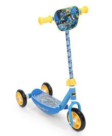 DC Comics Batman Three Wheel Scooter - Blue & Yellow