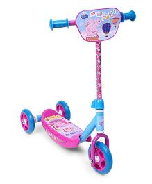 Peppa Three Wheels Scooter - Pink