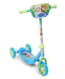 Disney Frozen Sisters Forever 3 Wheels Scooter - Blue Green