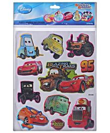 Disney Pixar Cars -  A4 Sparkle Puffy Sticker