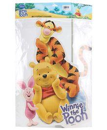 Disney Winnie The Pooh - Big Cut Out Sticker
