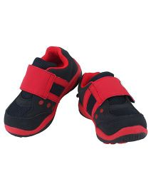 Myau Velcro Strap Shoes - Red