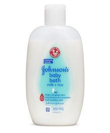 Johnson's baby Milk And Rice Bath - 200 ml