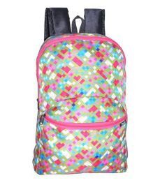 Avon Bags Rainbowpak 15 Litres Casual Backpack Multicolor - 16 Inches