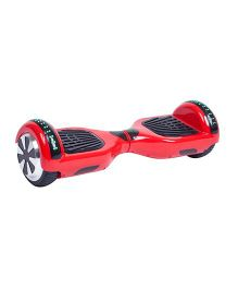 Emob Hover Board With RGB LED Light - Red