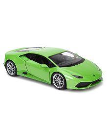 Welly Die Cast Lamborghini Huracan LP610 4 Car - Green