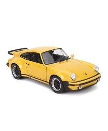 Welly Die Cast 1974 Porsche 911 Turbo - Yellow