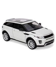 Welly Die Cast Land Rover Range R EVOQUE Car - White