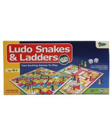 Sunny Ludo And Snakes & Ladder Multicolor - 12 inches