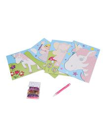 Galt Sensational Sequins Fairies And Unicorns Theme - Multi Color