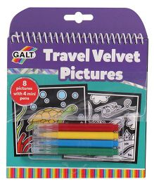 Galt Travel Velvet Pictures - Multi Color