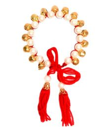 Miss Diva Beads With Ghungroo Bracelet - Multicolour