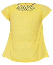 Miyo Pretty Cotton Top - Yellow