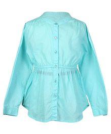Miyo Shirt Dress - Turquoise