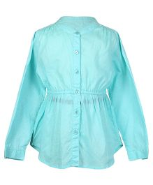 Miyo Shirt Dress - Turquoise