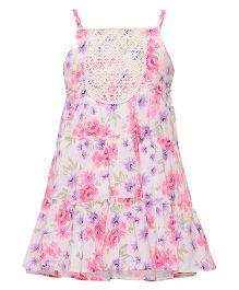 Miyo Singlet Cotton Dress - Pink
