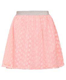 Miyo Polyester Skirt - Pink