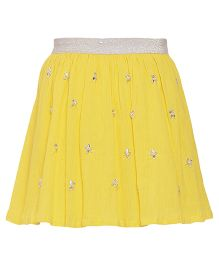Miyo Cotton Skirt - Yellow