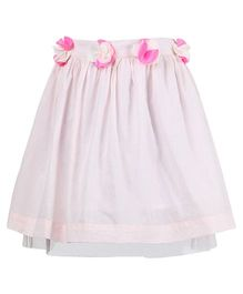 Miyo Attractive Cotton Skirt - Pink