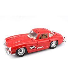 Bburago Die Cast Mercedes Benz 300 SL 1954 Car - Red