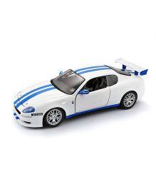 Bburago Die Cast Maserati Trofeo Car - White