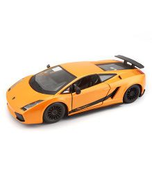 Bburago Die Cast Lamborghini Gallardo Superleggera Car - Yellow
