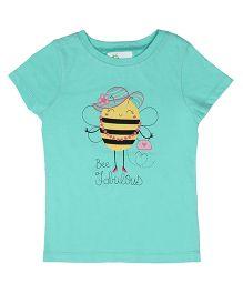 Orgaknit Bee Fabulous Printed Tee - Green