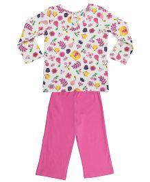 Orgaknit Organic Cotton Top & Pant - Pink
