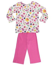 Orgaknit Organic Cotton Top & Pant - Pink