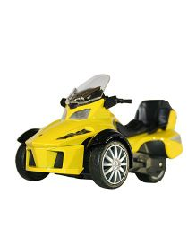 Adraxx 3 Wheel ATV Die Cast Bike Toy - Yellow