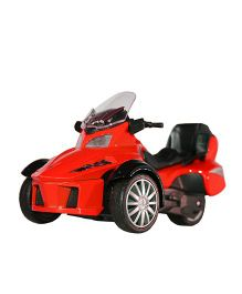 Adraxx 3 Wheel ATV Die Cast Bike Toy - Red