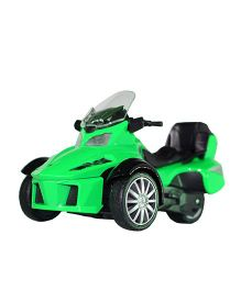 Adraxx 3 Wheel ATV Die Cast Bike Toy - Green
